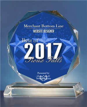 2017 Website Award to Merchant Bottom Line