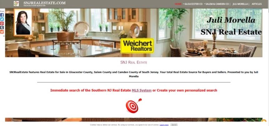 SNJ Real Estate Website