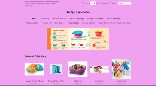 Storage Tupperware