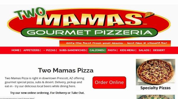 Two Mamas Pizza