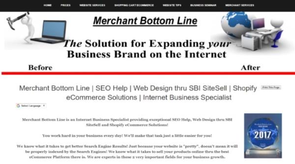 Merchant Bottom Line